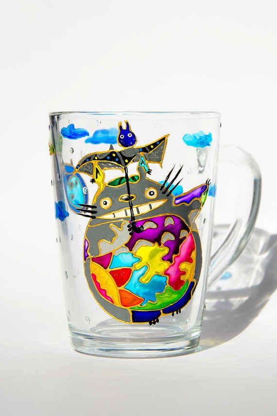This custom-made Totoro cup ($23).