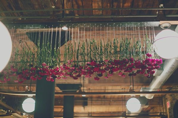 hanging floral display by michelle edgemont @Katelyn Nelson sloss