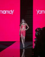 Gabriela Isler, Miss Universe 2013, presenta la colección Verano 2014 de Yamamay en la Miami Fashion Week MFW