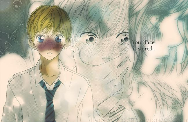 Ao Haru Ride - Colored 4 by lisa-dollface