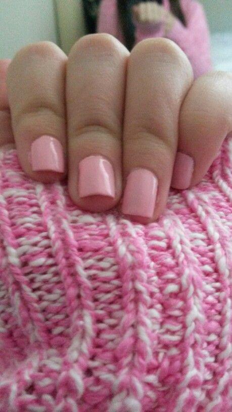 Uñas rosa Barbie