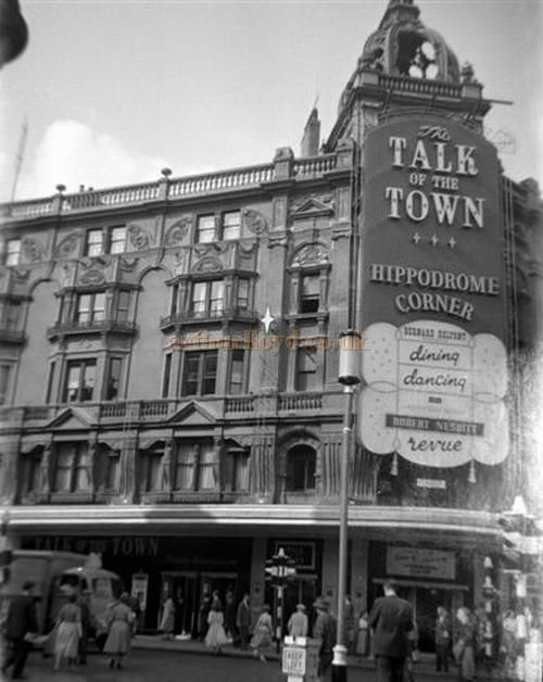 The Talk of the Town, also known as The Hippodrome, where Judy Garland performed in London. The setting for END OF THE RAINBOW.