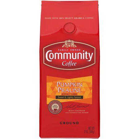 Community Coffee Pumpkin Praline Ground Coffee, 12 oz
