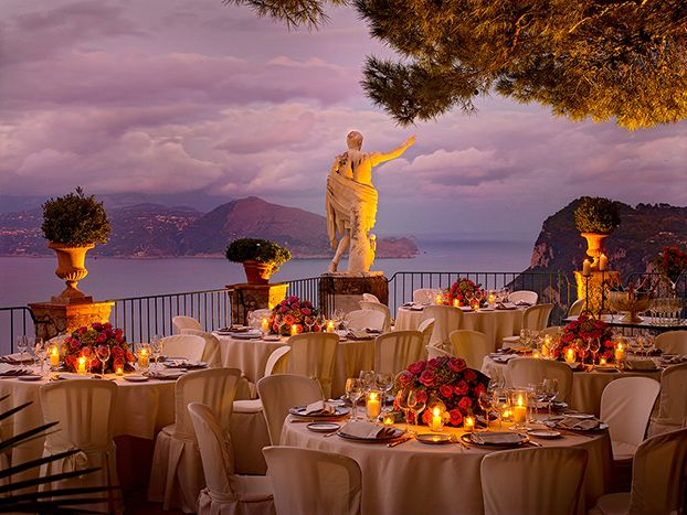 Caesar Augustus - the hotel and restaurant with the #bestview of the Gulf of Naples in Capri. #Italy, Anacapri. #RelaisChateaux