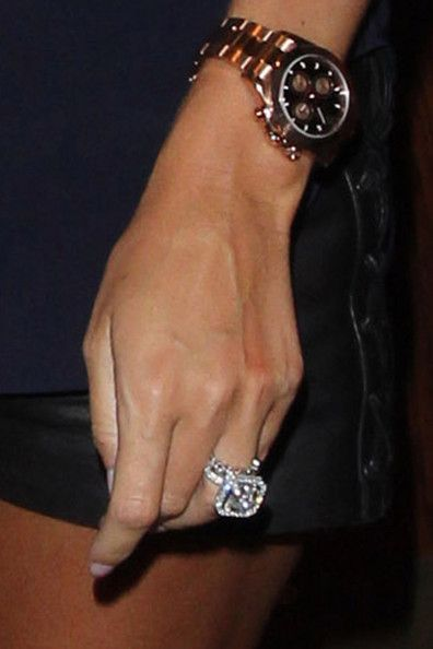 rose gold rolex. and petra ecclestone's engagement ring is RIDICULOUS.