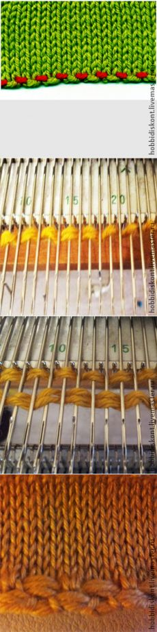 Set loop & quot; Bulgarian intonation & quot; on a knitting machine - Fair Masters - handmade, handmade