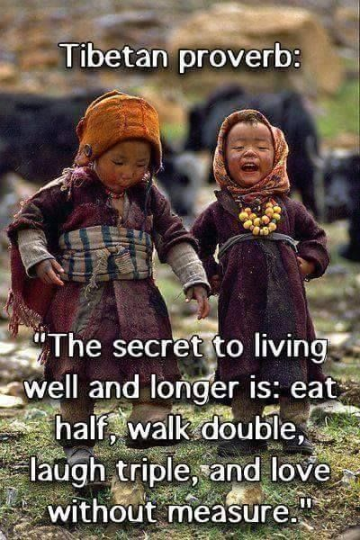 The Tibetans certainly know their stuff!  We could all learn from so much of their wisdom & teachings.Do you agree?   #healing #wellness #love    Start here>>>http://holohealingsystem.com/