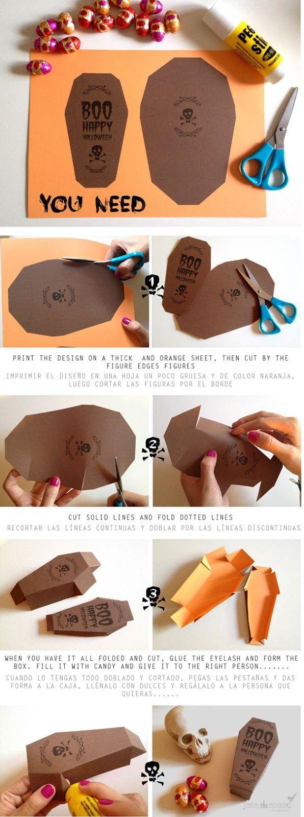 Join the Mood: DIY A HALLOWEEN BOX GIFT