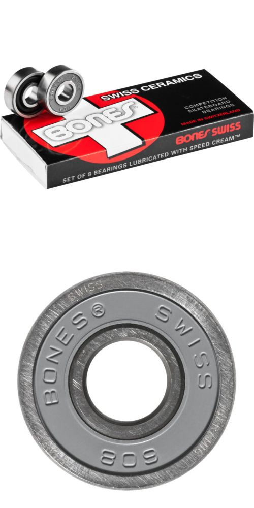 Bearings 36624: Bones Swiss Ceramic Skateboard Bearings 8-Pack 8Mm Precision Competition -> BUY IT NOW ONLY: $97.95 on eBay!
