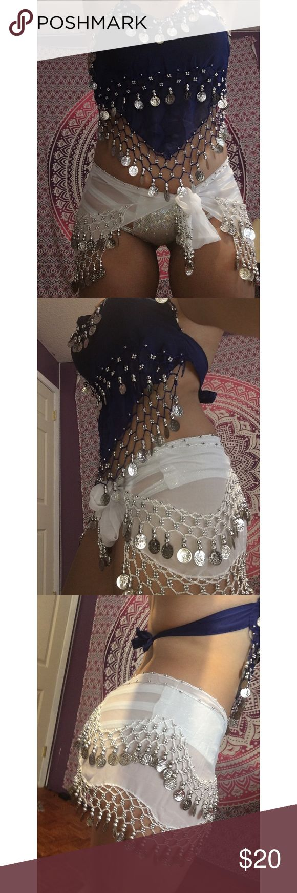 Belly Dance/Rave outfit Cute Belly Dance/ Rave outfit. Just selling the coin top and coin skirt. Other