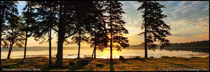 Trenton, Maine - Acadia National Park Picnic Area