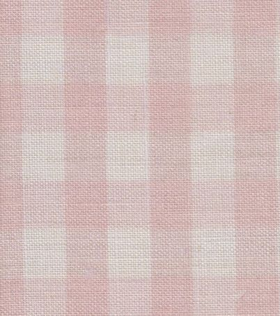 Small Pink Check, Peony & Sage