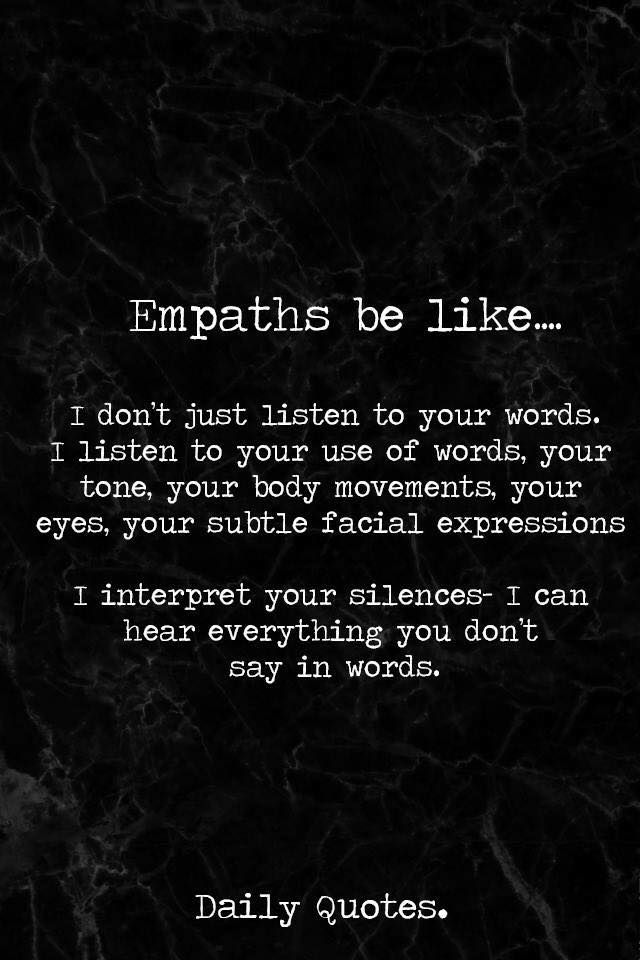 Empaths | Speak To Me | Intuition quotes, Soul quotes, Old