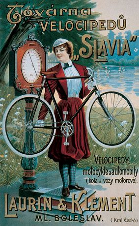 As other car manufacturers Skoda started as Laurin&Klement with bicycles, #Czechia cars