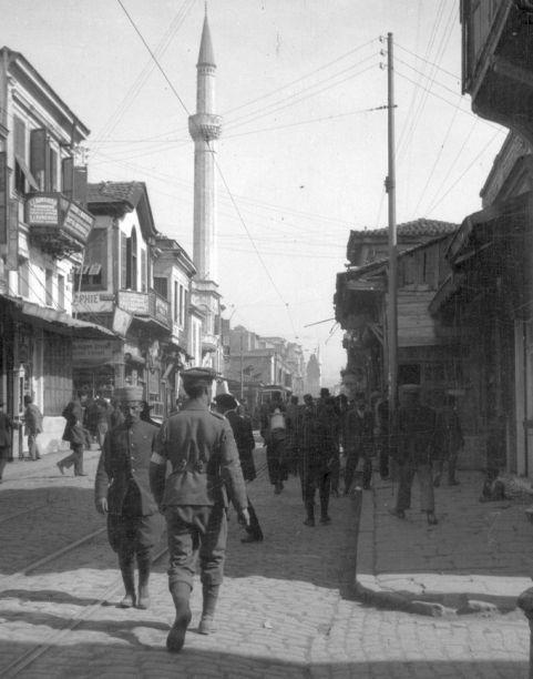 Saloniki 1916 market