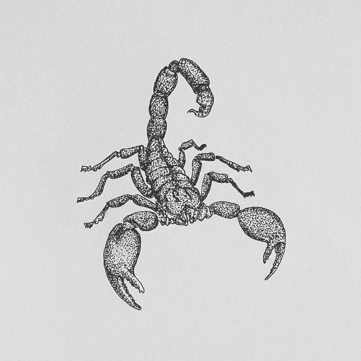 Scorpion  #scorpion #practice #pointillism #dotwork #doodle #doodleart…