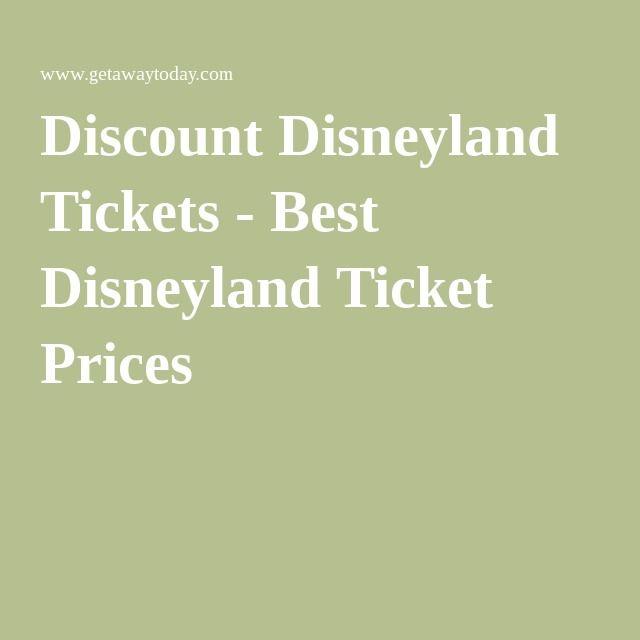 Discount disneyland tickets best disneyland ticket prices