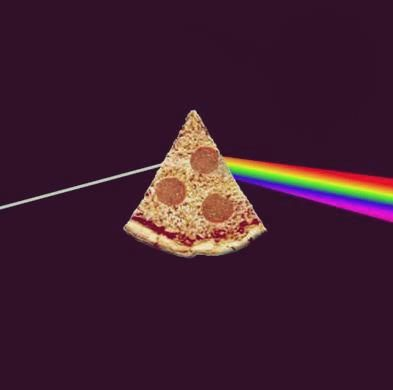 the dark side of the pizza