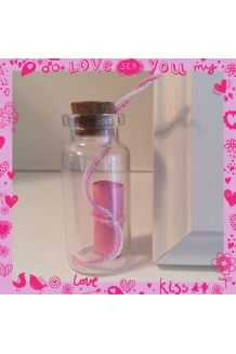 $3 Message in a Bottle Small Size  #handmade#bottle#wishbottle#messageinabottle#cute#pretty#small#cheap#diy#present#gift#idea#presentidea#giftidea