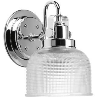 check out the progress lighting p298915 archie 1 light bathroom lighting in polished chrome