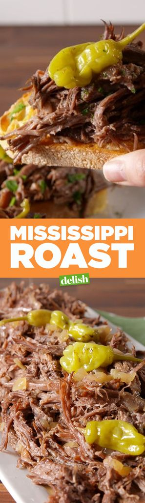This Super Simple Mississippi Pot Roast Recipe is Going Viral
