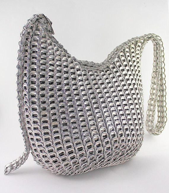 Soda can tab handbag - on etsy.com recyclarte