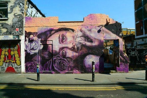 STREET ART UTOPIA » Street Art in Brick Lane, London, England