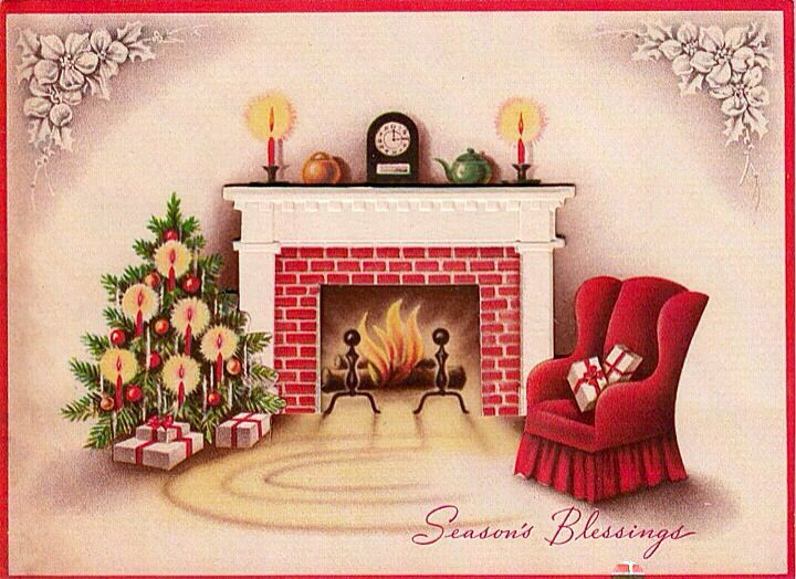 671 best christmas hearth/fireplace images on Pinterest ...
