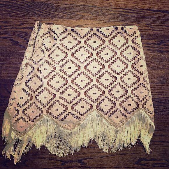 Dresses & Skirts - Judith march fringe skirt