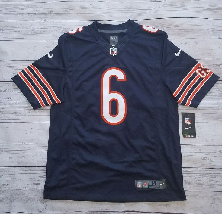Nike Jay Cutler Chicago Bears Game On Field Jersey Womens XXL Rare NWT Authentic #Nike #ChicagoBears
