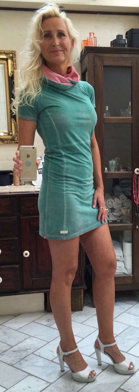 Dress from One Green Elephant. Shoes from Sacha London