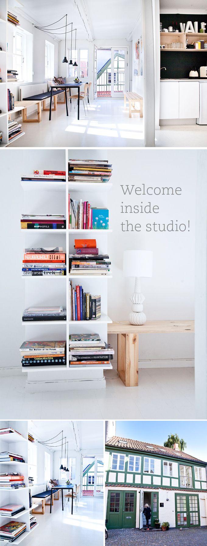 Welcome inside my studio!  www.spagat.dk