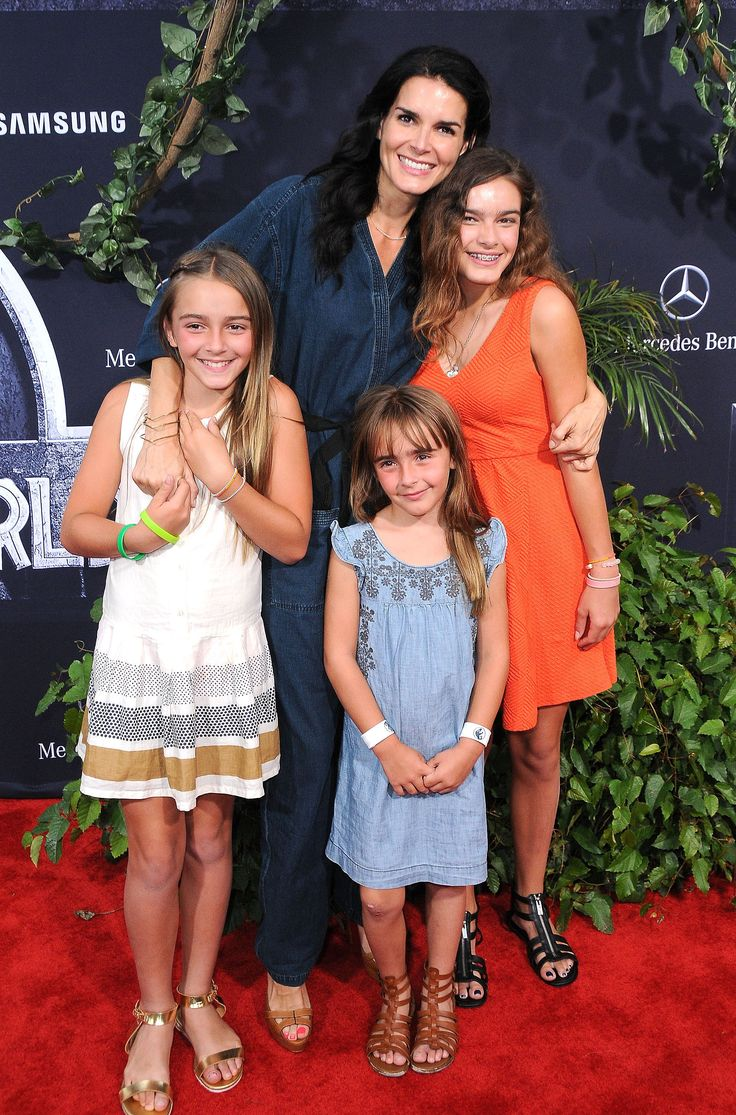 Angie Harmon and Her Family