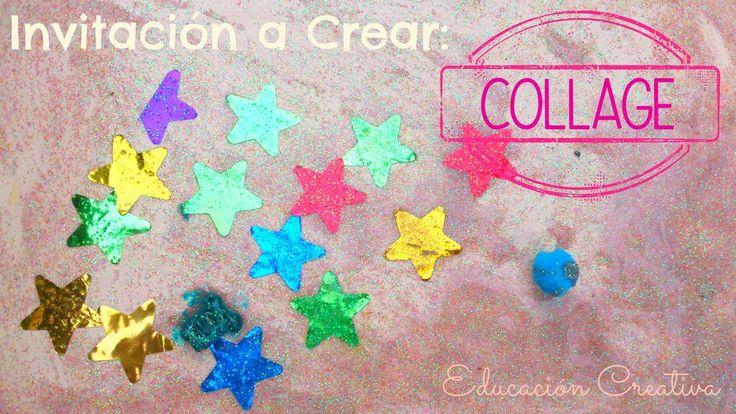 Invitación a Crear: Collage | Educación Creativa