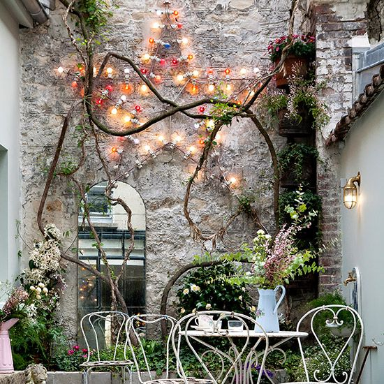 Magical #fairylights #outsidespace #patio