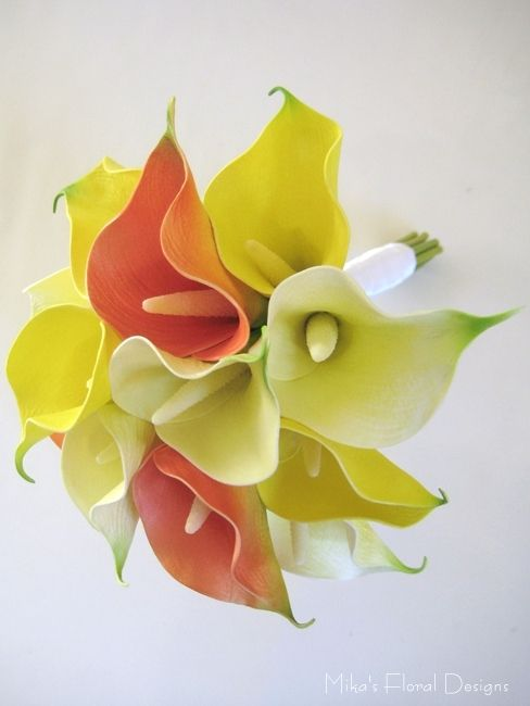 real touch calla lilies wedding | Real Touch Calla Lily Wedding Bouquets | Quality Artificial Flowers