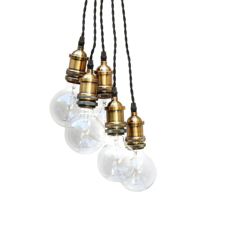 industrial lighting design. 5 drop vintage pendant cluster by eddieandsons on etsy industrial lightinglighting designpendantsetsyvintage lighting design o
