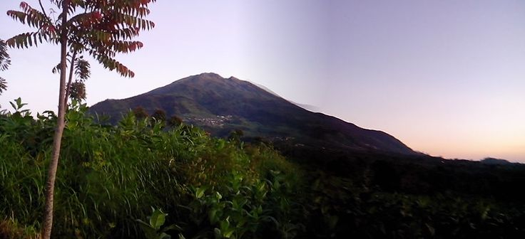 Mount Merbabu, gorgeous as always