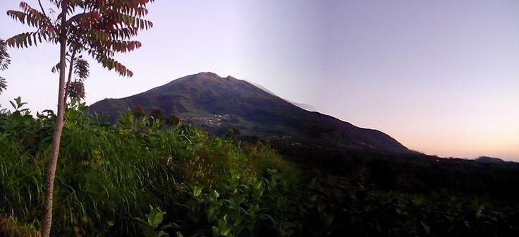 Mount Merbabu, gorgeous as always