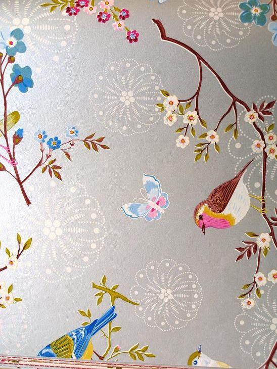 Pip Studio wallpaper - early bird