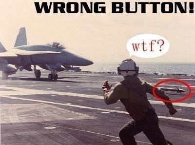 Wrong Button, I Guess!: Flight Decks, Funny Pics, Dammit Jimmy, Wrong Buttons, Epic Fails, Funny Stuff, Humor, Fighter Jets, Military
