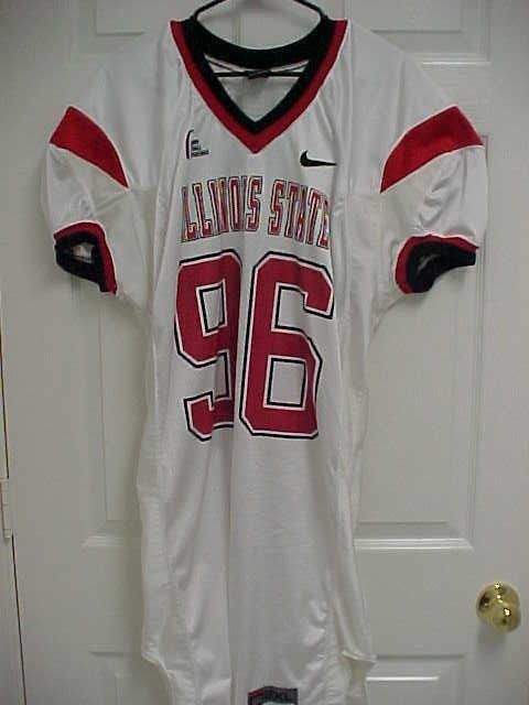 ILLINOIS STATE REDBIRDS 96 Gateway Football Conference Issued Jersey 2XL  Nike  NikeTeam  IllinoisStateRedbirds f6a69a316