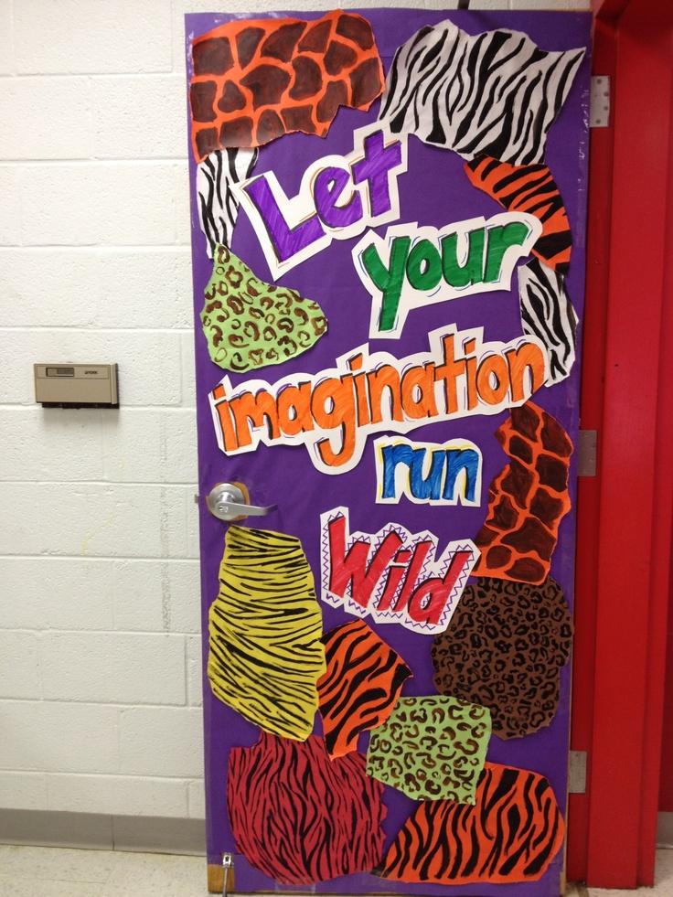 My Art Room Door