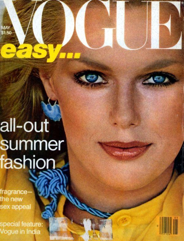 #Patti Hansen - Vogue Magazine [United States] (May 1978)