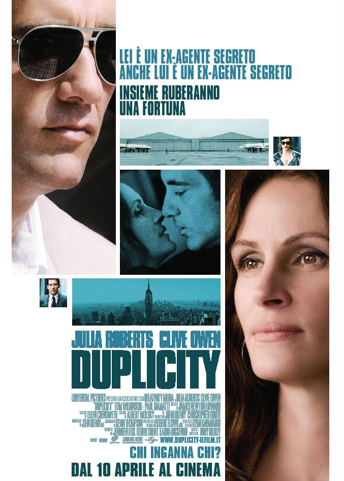 56 best favourite films images on pinterest movie posters duplicity 2009 regia di tony gilroy fandeluxe Images