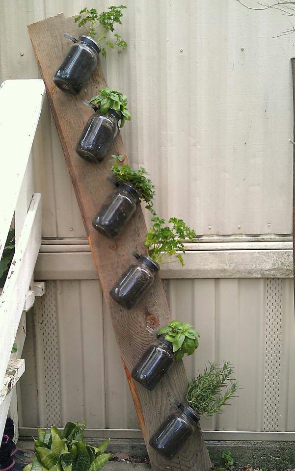 Indoor Outdoor Herb Garden By Classy Garbage On Etsy