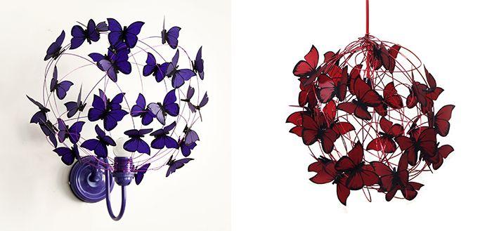 16 best como de corar enchufes images on pinterest cable - Como hacer mariposas de papel ...