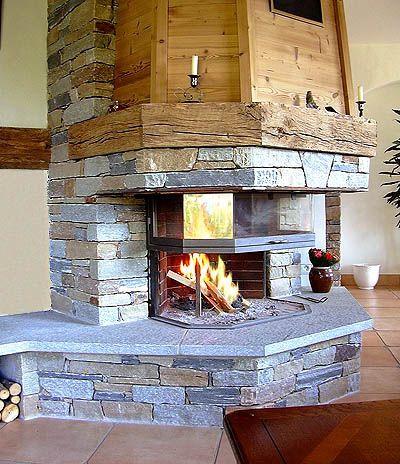 9 Best 3 Sided Wood Burning Fireplace Images On Pinterest