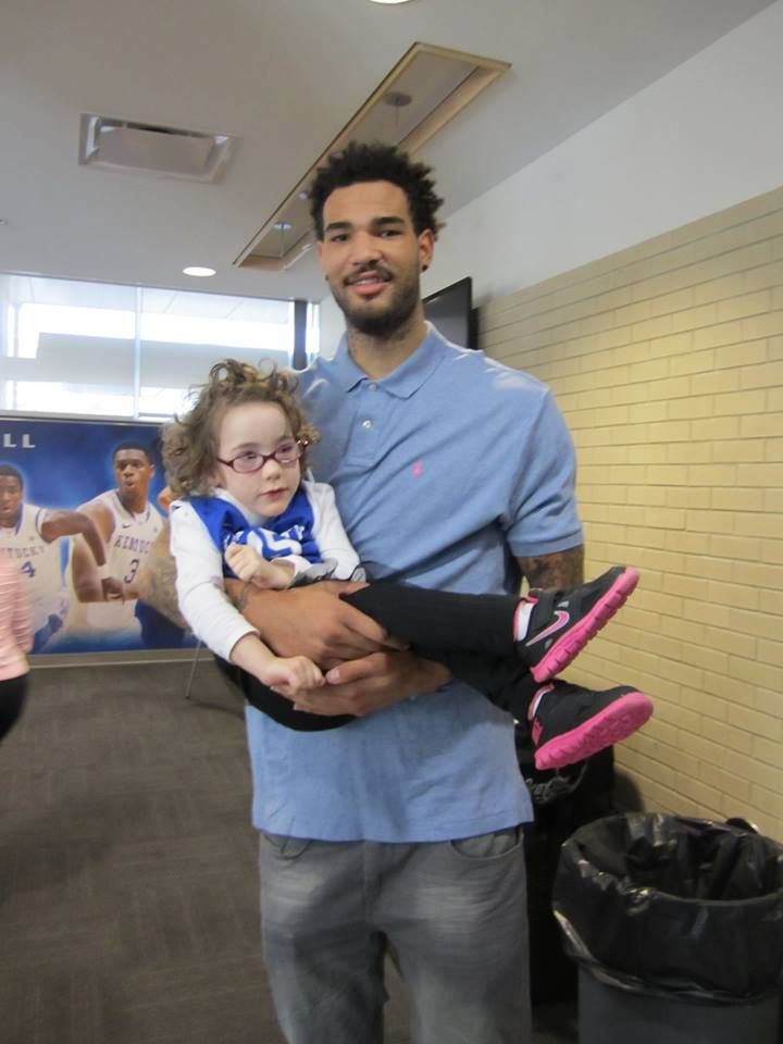 Willie Cauley-Stein had a lunch date with 4 year old Olivia, who has cerebral palsy, after seeing a video of her asking him to marry her.