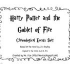 This center challenges students to recreate J.K. Rowling's Harry Potter and the Goblet by putting the events in chronological order.  Students can ...